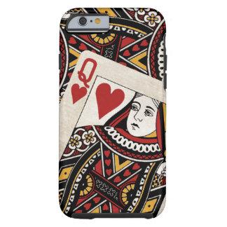 Queen of Hearts Tough iPhone 6 Case