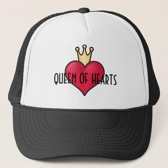 QUEEN OF HEARTS Trucker Hat