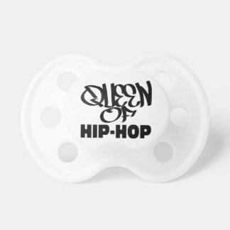 queen of hip hop pacifiers