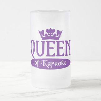 Queen of Karaoke mug - choose style & color