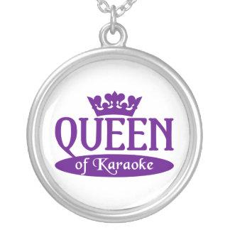 Queen of Karaoke necklace