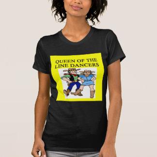 queen of line dancing T-Shirt