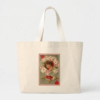 Queen of My Heart Canvas Bag