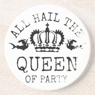 Queen of Party Coaster