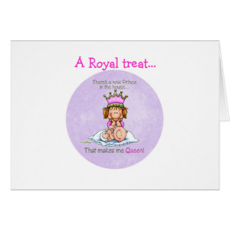 Queen of Prince - Big Sister Card