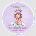 Queen of Prince - Big Sister Round Sticker