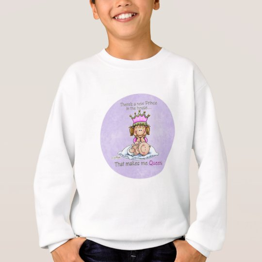 Queen of Prince - Big Sister Sweatshirt