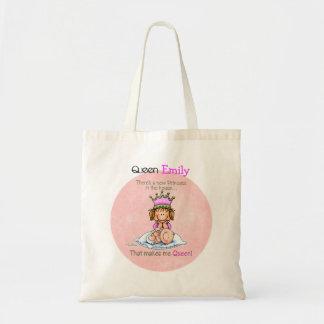 Queen of Princess - Big Sister Canvas Bag