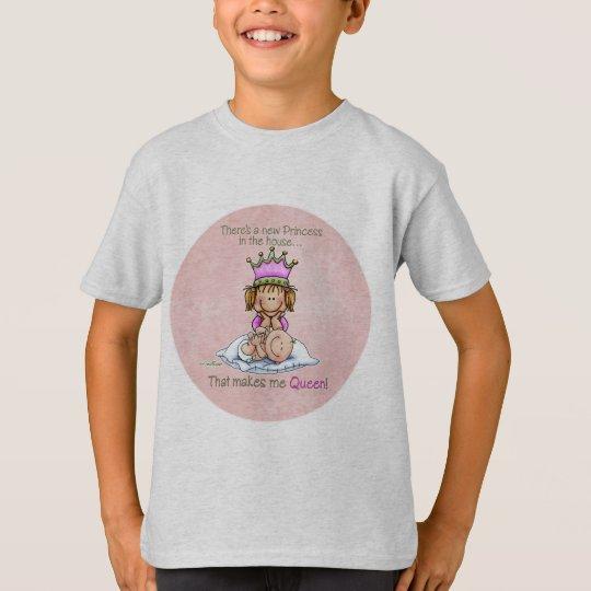 Queen of Princess - Big Sister t-shirt