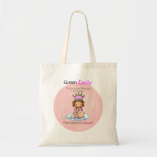 Queen of Princess - Big Sister Tote Bag