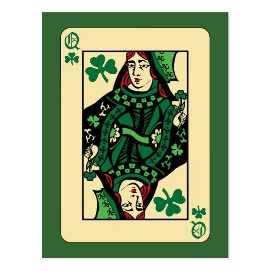 Queen of Shamrocks Postcard