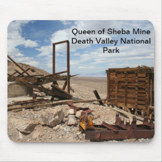 Queen of Sheba Mine - Death Valley National Park Mouse Pad