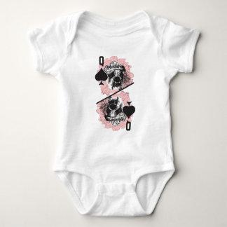 Queen of Spades Baby Bodysuit
