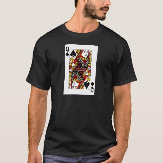 queen of spades.png T-Shirt