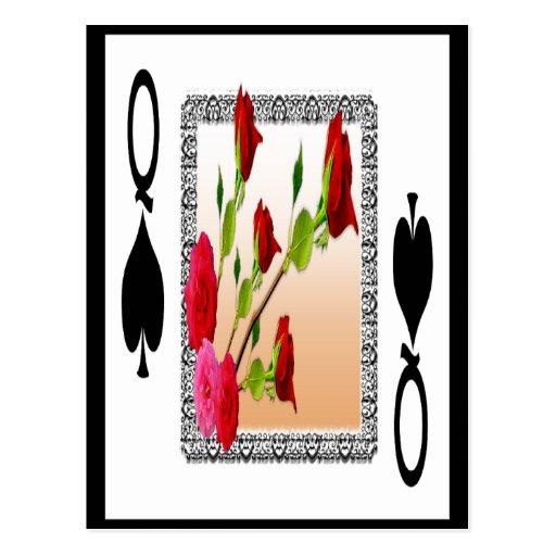 Queen of Spades Postcards