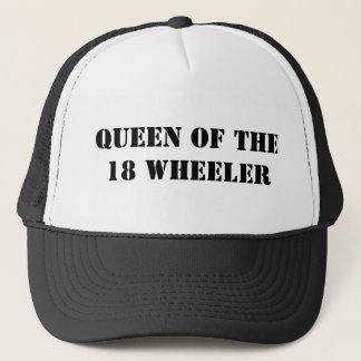 Queen of the 18 Wheeler Trucker Hat