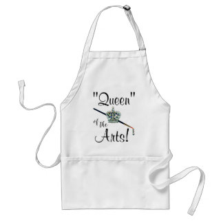 """Queen"" of the Arts! Standard Apron"