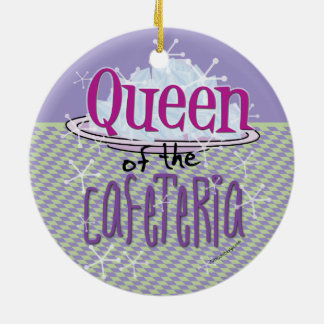 Queen of the Cafeteria - Lunch Lady Christmas Ornament