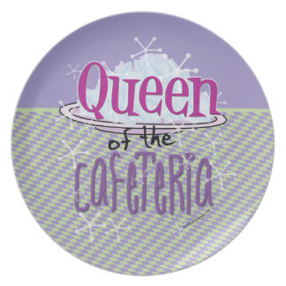 Queen of the Cafeteria - Lunch Lady Dinner Plate