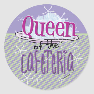 Queen of the Cafeteria - Lunch Lady Sticker