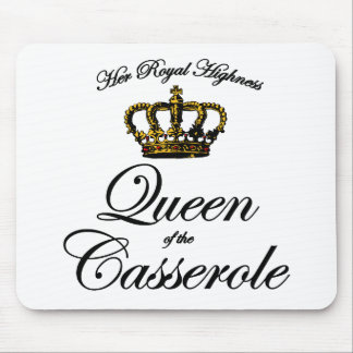 Queen of the Casserole Mouse Pad