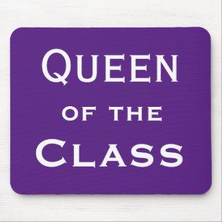 Queen of the Class Special Woman Teacher Name Mouse Mat