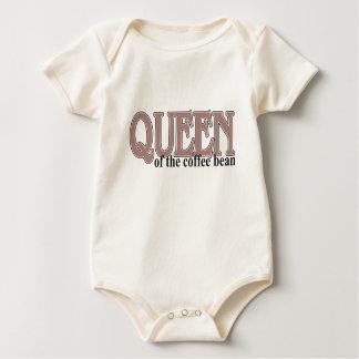 Queen of the Coffee Bean Baby Bodysuit