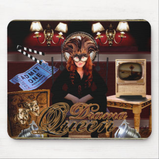 Queen of the Drama Montage Mouse Pad