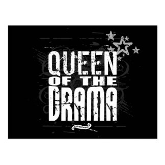 Queen of the Drama Post Card