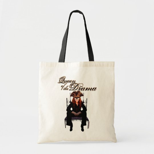 Queen of the Drama Tote Bag