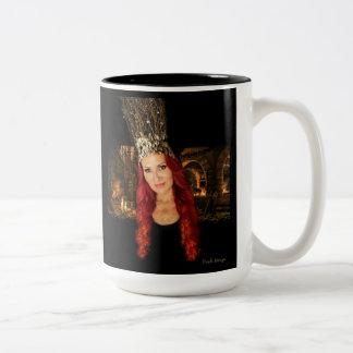 Queen of the Fairies Two-Tone Coffee Mug