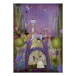 Queen of the Flowers from Thumbelina Print