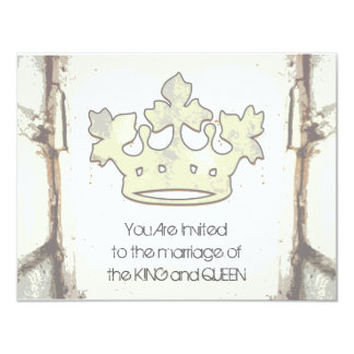 Queen of the Forest 11 Cm X 14 Cm Invitation Card
