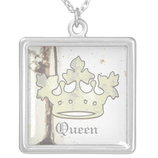 Queen of the Forest Personalized Necklace