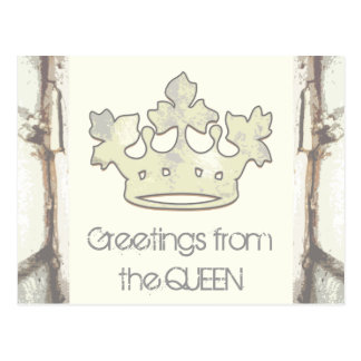 Queen of the Forest Postcard