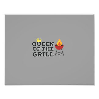 Queen of the grill art photo