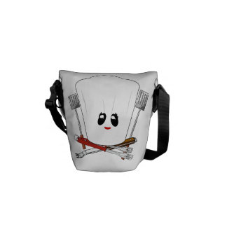 Queen of the Grill - Chef s Hat BBQ Tools Courier Bags
