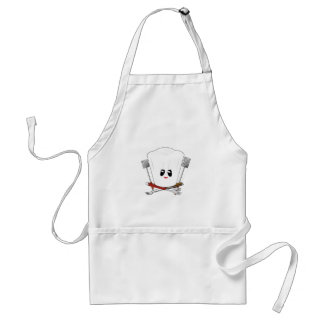 Queen of the Grill - Chef's Hat & BBQ Tools Standard Apron