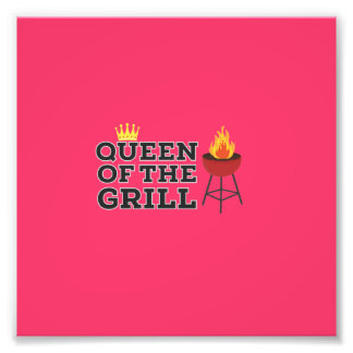 Queen of the grill photo