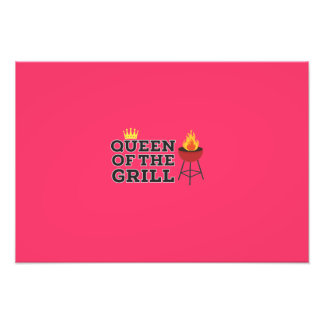 Queen of the grill photo art