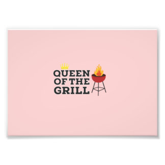 Queen of the grill photograph