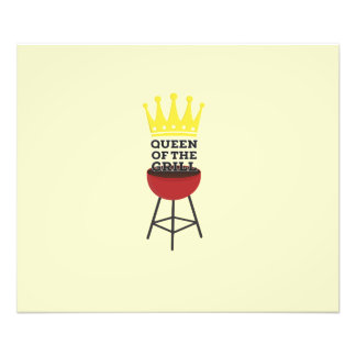 Queen of the grill photographic print