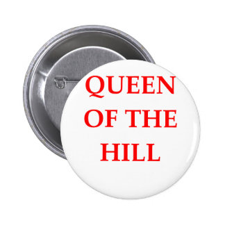 queen of the hill 6 cm round badge