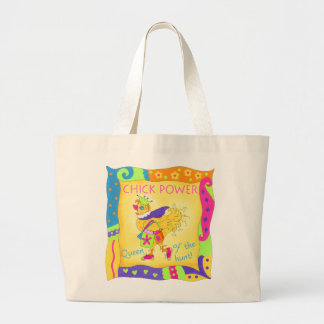 Queen of the Hunt Chick Power Tote Bag