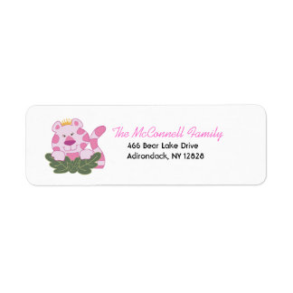 QUEEN OF THE JUNGLE PRINTABLE ADDRESS LABELS