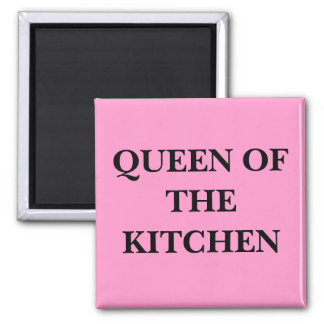 QUEEN OF THE KITCHEN MAGNET