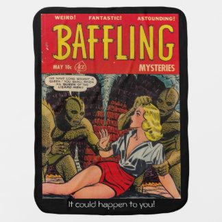Queen of the Lizard People - Comic Cover Baby Blanket