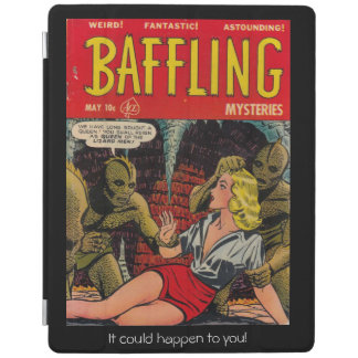 Queen of the Lizard People - Comic Cover iPad Cover