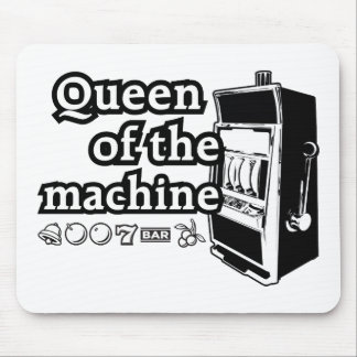 Queen Of The Machine Mouse Pad