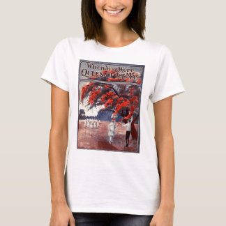 Queen of the May Ladies Baby Doll (Fitted) T-Shirt